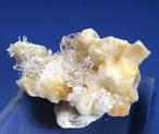 クォーツ結晶 + カルサイト  ネバダ産 6,9g QZ031 原石 天然石 鉱物 パワーストーン