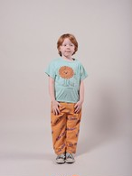 BOBO CHOSES ボボショセス Pet A Lion Short Sleeve size:2-3Y(95-100)~6-7Y(115-125)