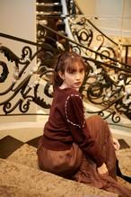 Romantic Pearl Knit Pullover