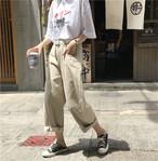 ゆったり デニム カジュアル パンツ【15616】