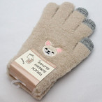 【チワワ】スマホ手袋(白)【17319-631-078】