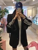 予約注文商品 3ラインビッグジャケット ジャケット 韓国ファッション