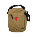 One Family Co. / Mini Shoulder Bag / Red Chili / Tan
