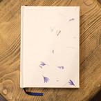 コーンフラワー手漉き紙 A6罫線Colorisノート ポータブルサイズ