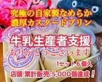 【送料無料!】牛乳生産者支援『究極のプリン』