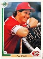 MLBカード 91UPPERDECK Paul O'Neill #133 REDS