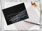 Envelope Calligraphy Ruler / inkmethis