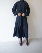 STAND COLLAR MILITARY ONEPIECE / FILL THE BILL