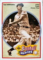 MLBカード 92UPPERDECK Ted Williams #30 of 36 BASEBALL HEROES