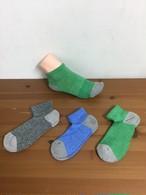 綿由来の天然炭素繊維を靴下の産地奈良県の工場で編んだアンクルソックス