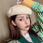 【小物】イングランド風日系ラシャ海外トレンドベレー帽 23853978