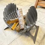 オリジナル焚き火台 Bonfireシリーズ焚き火台 Fire wing