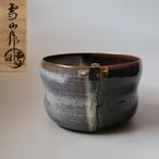 茶道具 高取 建水 鬼丸雪山 共箱 陶芸 けんすい たかとり