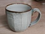 コーヒーが似合うマグカップ(灰) 青陶舎 青柳晃 やちむん