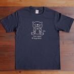 にゃんきーとすTシャツ「おやこねこ」ネイビー