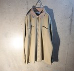 2Tone Zip Up Shirt Jacket