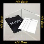 【01670】 1/6 ZC World NYPD クリップボード