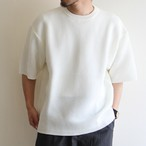 is-ness【 mens 】knitted crew neck