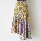 RENE DERHY 花柄アシメトリーデザインスカート:RD-58 ¥20,000+tax