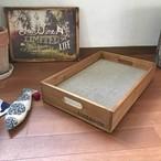 【ねこのきもち9月号掲載】猫の爪とぎ ウッドボックス Cat Scratching  box インテリア