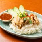 カオマンガイ(タイ風茹で鶏炊き込みご飯) ※タレ付き