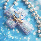 【受注生産】7月のおまもりネックレス「星に願いを」