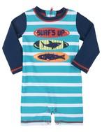 SALE Hatley サーフボード Baby長袖ラッシュガード(SPF50)SurfboardBabyRashGuard
