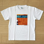 オールドTシャツ企画 スクエアプリントT サーフパンダno2 Sサイズ