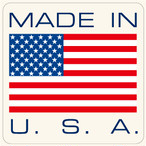 "002 MADE IN USA ""California Market Center"" アメリカンステッカー スーツケース シール"