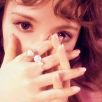 Girly Flower Heart & Pearl _ ring