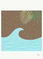 [ily drawing]Calm Wave Night