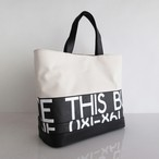 Tote Bag (S) / White  TSW-0013