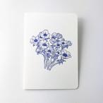 活版印刷のバースデイカード  /  花束:イザベル・ボワノ