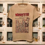 MONSTER PUZZLE  PIGMENT T-SHIRTS (予約)