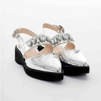 Metallic Bijou Shoes
