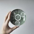 【 印判小皿 - 牡丹×松竹柄 - 】和模様 / antique / japan