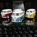 WELLY製 ファニーワーゲンバス 4色 4台セット メタリック色(新色)
