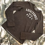 Abercrombie&Fitch MENS ロンT Sサイズ