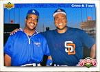 MLBカード 92UPPERDECK Chris & Tony #083  DODGERS & PADRES
