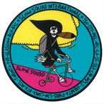 "SLOW SQUAD INTERNATIONAL ""Tricycle Ripper Sticker"""