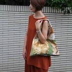 【オーダー品】リメイクスカーフバッグ(裏シャンパンゴールド合皮)