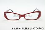 【正規取扱】ウルトラセブンメガネ公式コラボ、A MAN of ULTRA×BLACK ICE US-704F-C1、円谷プロ、ウルトラマン、眼鏡フレーム、アイスラッガー、コラボ、変身、ブルーライトカット、限定商品