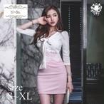 No.125 キャバドレス 韓国ワンピース ミニワンピース フェミニンドレス