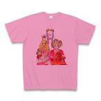 令和改元記念「レ祝」Tシャツ(ピンク)