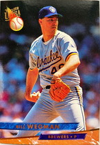 MLBカード 93FLEER Bill Wegman #226 BREWERS