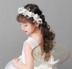 子供 キッズ ヘッドドレス こども用 ヘッドアクセサリー 髪飾り 発表会 誕生日 お誕生日会 演奏会 コンクール ピアノ