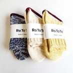 ROTOTO ロトトLow Gauge Slub Socks