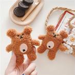 【オーダー商品】Bear fur airpods1/2 case