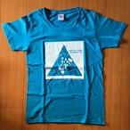 グランジ・ソウルTシャツ/サイズ:WL カラー:ターコイズ