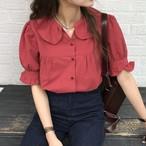 【新作10%off】fril sleeve girly blouse 2706